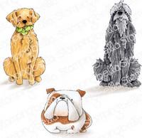 Stamping Bella - Golden, Wolfhound & Bulldog, Leimasetti