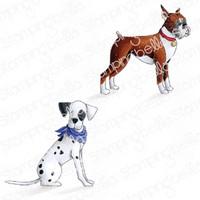 Stamping Bella - Boxer & Dalmatian, Leimasetti