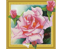 It`s Hobby - Tender Rose (O)(P), Timanttimaalaus, 30x30cm
