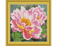 It`s Hobby - Peonies (O)(P), Timanttimaalaus, 30x30cm
