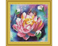 It`s Hobby - Lotus (O)(P), Timanttimaalaus, 30x30cm
