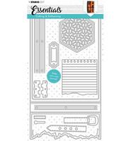 Studio Light - Stanssisetti, Cutting Die Essentials nr.342