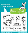Lawn Fawn - I Like You (a lotl), Leimasetti