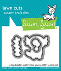 Lawn Fawn - I Like You (a lotl), Stanssisetti