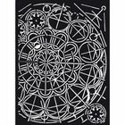 Stamperia - Sir Vagabond, Thick Stencil 15x20cm, Geometry