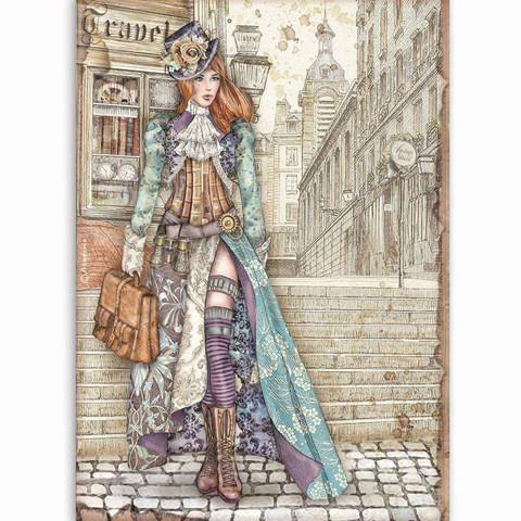 Stamperia - Lady Vagabond, Rice Paper, A4