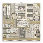 Stamperia - Calligraphy, Paper Pack 12