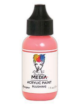 Dina Wakley Media - Acrylic Paint, Blushing, 29ml