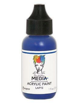 Dina Wakley Media - Acrylic Paint, Lapis, 29ml