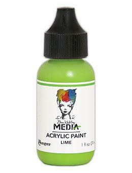 Dina Wakley Media - Acrylic Paint, Lime, 29ml