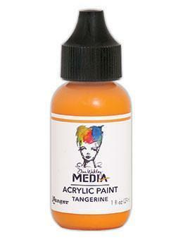 Dina Wakley Media - Acrylic Paint, Tangerine, 29ml