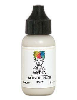 Dina Wakley Media - Acrylic Paint, Buff, 29ml