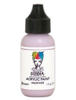 Dina Wakley Media - Acrylic Paint, Heather, 29ml