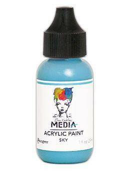 Dina Wakley Media - Acrylic Paint, Sky, 29ml
