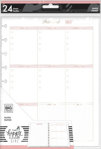 MAMBI - CLASSIC Happy Planner, Weekly Schedule, Paperisetti