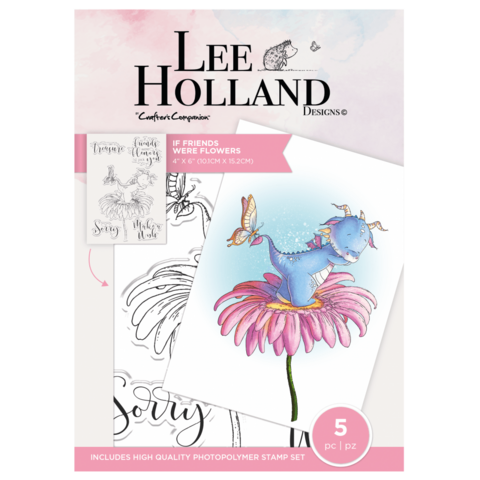 Crafter's Companion - Lee Holland, Leimasetti, If Friends Were Flowers