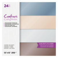 Crafter's Companion - Caramel and Cream, Pearl Pad 12