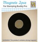 Nellie's Choice - Spare Magnets, 2kpl, Magneetit leimailutyökaluun