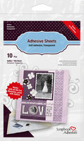 Scrapbook Adhesives - Liima-arkki stanssikuvioille, 100mm x 150mm, 10kpl