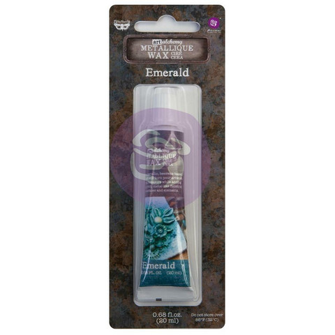 Prima Marketing - Finnabair Art Alchemy Metallique Wax, Emerald