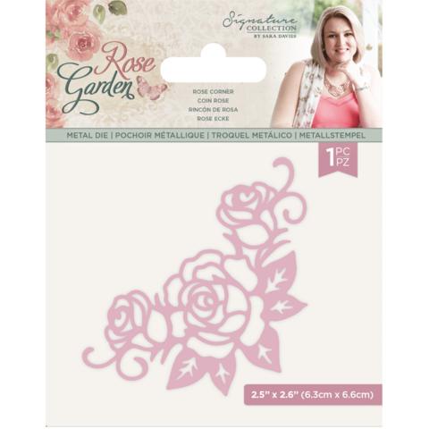 Crafter`s Companion - Sara Signature Collection Rose Garden, Stanssi, Rose Corner