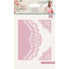 Crafter`s Companion - Sara Signature Collection Rose Garden, Stanssisetti, Adorning Lace