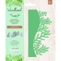 Crafter`s Companion - Woodland Friends, Stanssi, Foliage Border