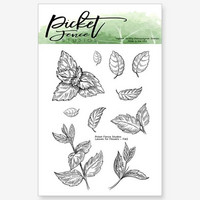 Picket Fence Studios - Leaves For Flowers, Leimasetti