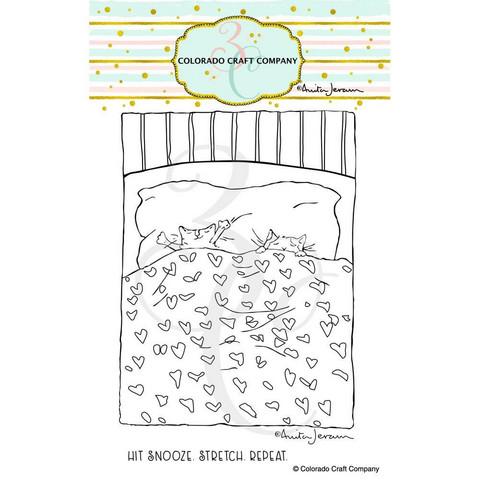 Colorado Craft Company - Snoozing Kitties-By Anita Jeram, Leimasetti