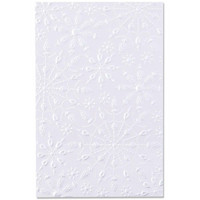 Sizzix - 3D Texture Impressions Embossing  Folder By Kath Breen, Kohokuviointitasku, Jeweled Snowflakes