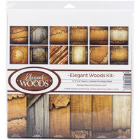 Reminisce - Elegant Woods, Collection Pack 12