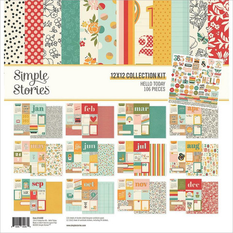Simple Stories - Hello Today Collection Kit 12