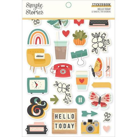 Simple Stories - Hello Today, Tarrasetti, 12 arkkia