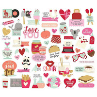 Simple Stories - Sweet Talk Bits & Pieces, 45 osaa
