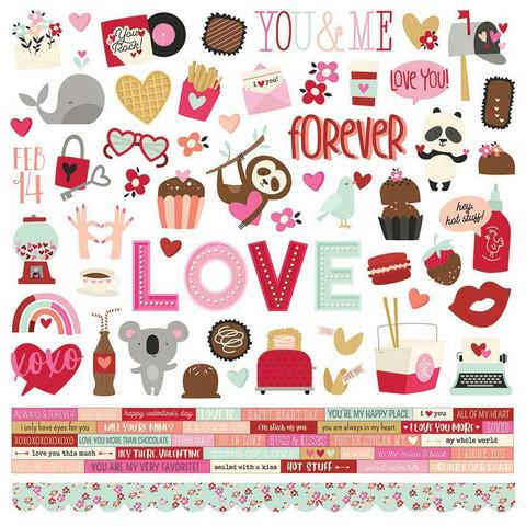 Simple Stories - Sweet Talk Cardstock Stickers 12