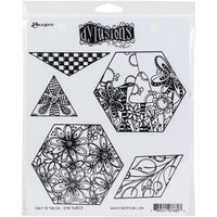 Dyan Reaveley's Dylusions - Cling Stamp Collections, Quilt As You Go