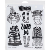 Dyan Reaveley's Dylusions - Cling Stamp Collections, Just Be