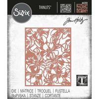 Sizzix - Thinlits Dies By Tim Holtz, Stanssi, Flowery