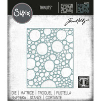Sizzix - Thinlits Dies By Tim Holtz, Stanssi, Bubbling