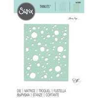 Sizzix -Thinlits Dies By Olivia Rose, Stanssi, Lunar Mask