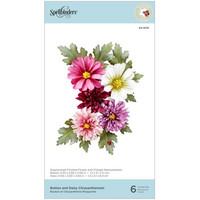 Spellbinders - Dies By Susan Tierney-Cockburn, Stanssisetti, Chrysanthemum