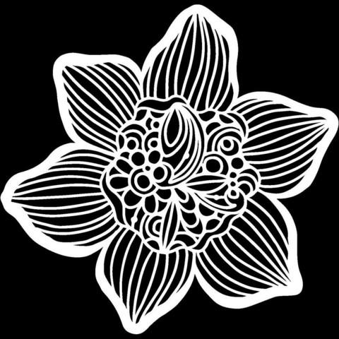 Crafter's Workshop - Cupped Daffodil, Maski 6