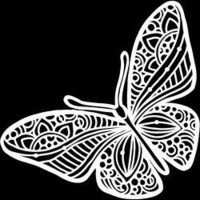 Crafter's Workshop - Joyous Butterfly, Maski 6
