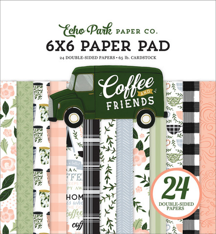 Echo Park - Coffee & Friends, Paper Pad 6