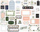 Echo Park - Coffee & Friends Frames & Tags, Leikekuvia, 33 kpl