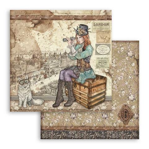 Stamperia - Lady Vagabond, 12
