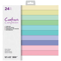 Crafter's Companion - Pretty Pastels Cardstock 12