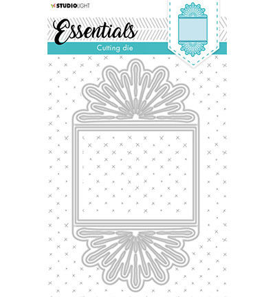Studio Light - Stanssisetti, Cutting Die Cardshape Trilogy Flower Essentials nr.368