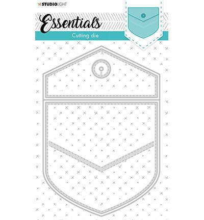 Studio Light - Stanssisetti, Cutting Die Cardshape Back pocket Essentials nr.367