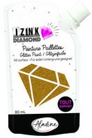 Aladine - IZINK Diamond, Gold, Kimallemaali, 80ml